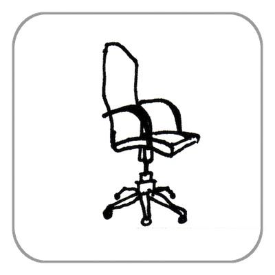 Schreibtisch-, Bürostuhl