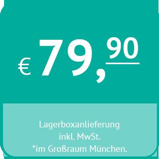 Preis für Boxanlieferungen